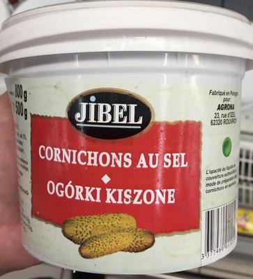 Cornichons au sel