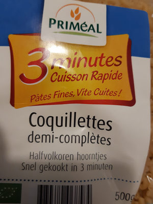 Coquillettes Cuisson Rapide 3 Minutes