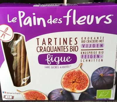 Tartines craquantes bio figue