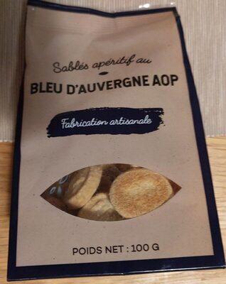 Sablés apéritif au bleu d'Auvergne AOP