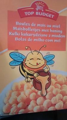 Boules de Maïs au Miel