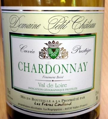 IGP Val de Loire, Chardonnay, cuvée prestige 2011