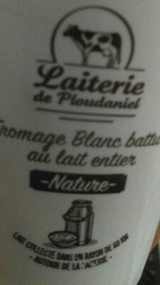 Fromage blanc battu au lait entier nature