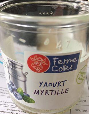 Yaourt Brassé Myrtille