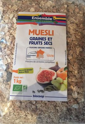 Muesli Graines et Fruits Secs