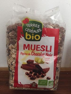Muesli pépites de chocolat noir