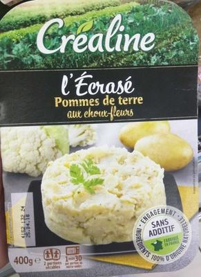 L'Ecrasé Pommes de terre aux choux-fleurs
