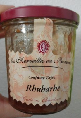 Rhubarbe (confiture extra)