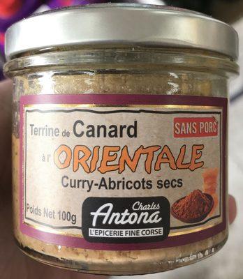 Terrine de Canard à l'Orientale Curry - Abricots secs