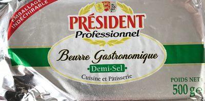 Beurre Demi-sel Plaquette
