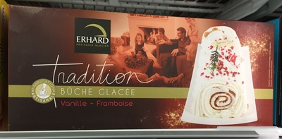 Tradition Bûche Glacée Vanille - Framboise