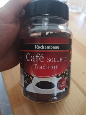 Café soluble tradition