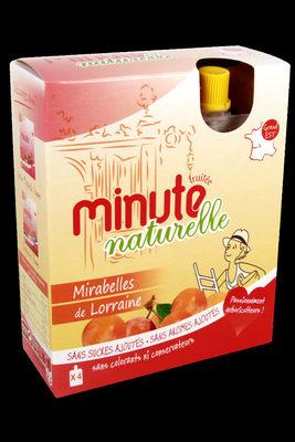 Minute naturelle : Mirabelles de Lorraine