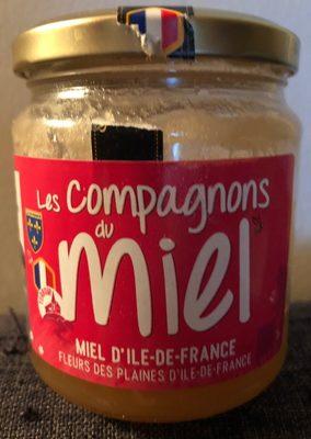 Miel d'Ile-de-France Fleurs des plaines