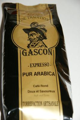 Le Gascon - expresso pur arabica
