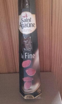 Spécialité de saucisse sèche la Fine Saint Agaûne