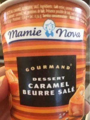 Dessert Gourmand Au Caramel Et Beurre Salé