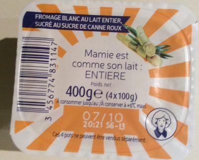 Fromage Blanc Sucré