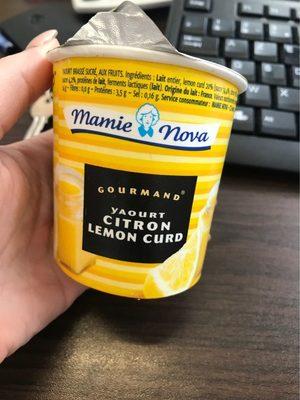 Mamie nova yaouet citron