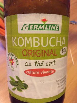 Kombucha Original au thé vert
