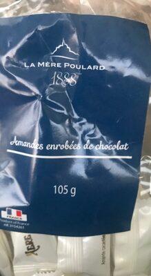 Amandes enrobees de xhocolat