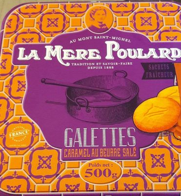 Galettes Caramel au Beurre Salé