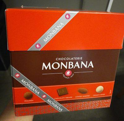 Chocolaterie Monbana - boite assortiment