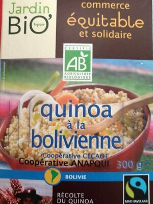 Quinoa à la bolivienne
