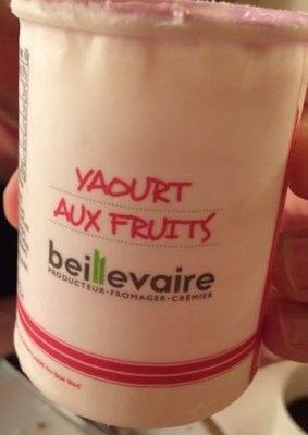 Yahourt aux fruits / cassis