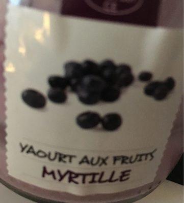 Yaourt aux fruits - Myrille