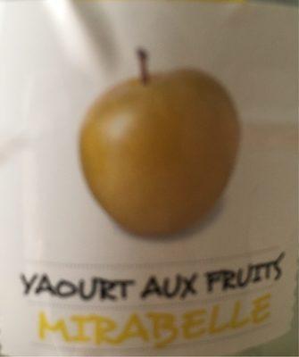 Yaourt aux fruits Mirabelle