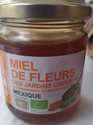 Miel de fleurs des jardins cafeiers