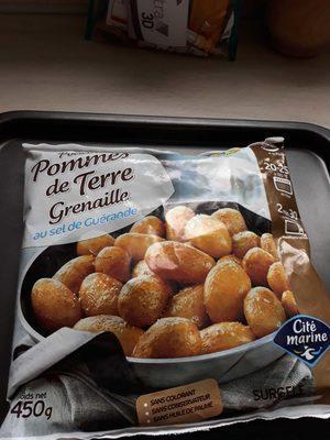 Pommes de terre grenailles au sel de Guérande CITE MARINE