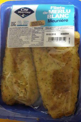 Filets de merlu blanc meuniere