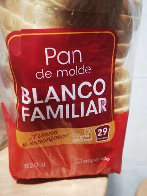 Pan blanco familiar