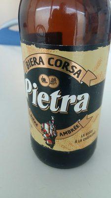 Pietra biera corsa ambrée à la châtaigne