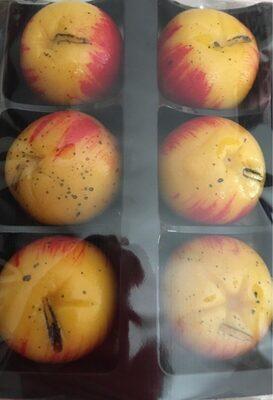 Pommes pâte d'amande nature