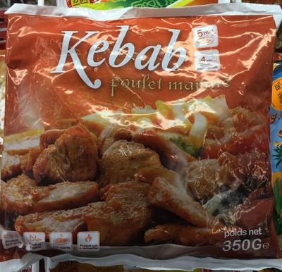 Kébab poulet mariné