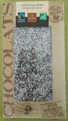 Chocolat noir noix de coco