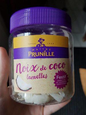 Lamelles de noix de coco