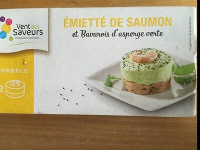 Emiette de saumon