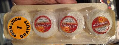 Mâconnais au lait cru - 1 gratuit