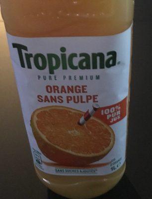 Orange sans piloe
