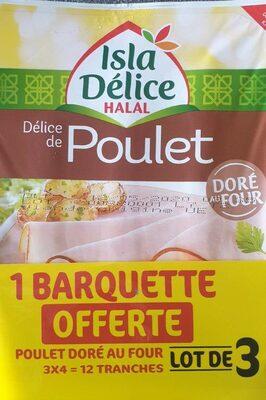 Lot de 3 Délice de Poulet Halal