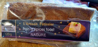 Pain d'épices toast