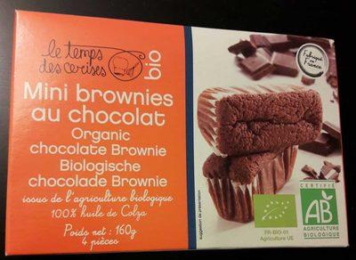 Mini Brownies au Chocolat Bio