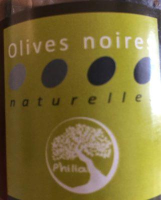 Olives noires naturelles