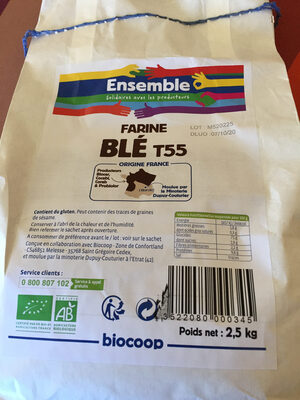 Farine blé t55