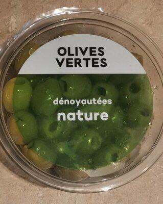 Olive verte dénoyautées