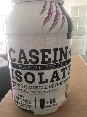 Casein + isolate